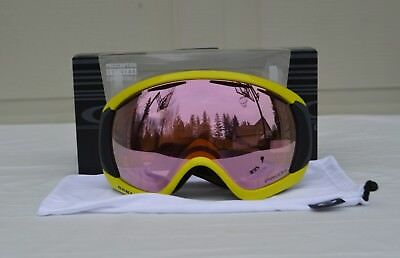 2017 NIB MENS OAKLEY CANOPY SNOW GOGGLES $180 laser iron/prizm HI pink iridium for sale  Eagle Creek
