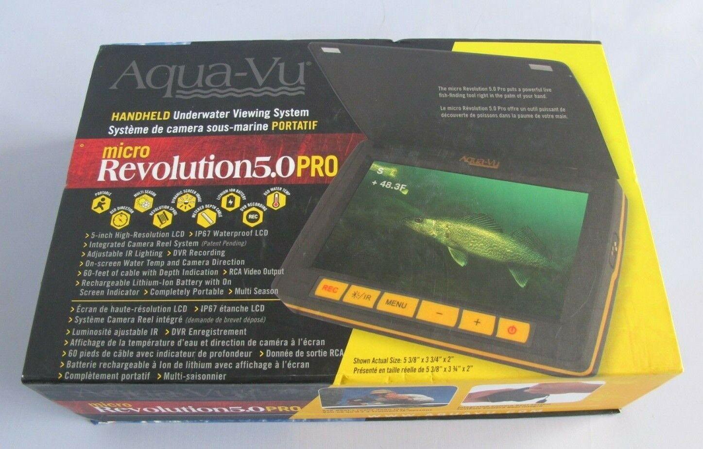 AQUA VU Micro 5.0 Revolution Pro Camera 100-7557