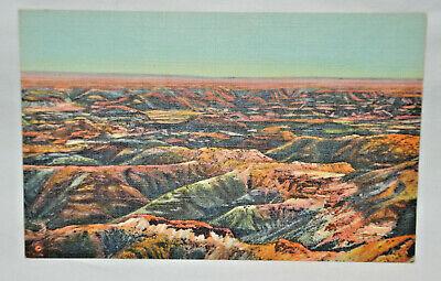 Vintage Postcard PAINTED DESERT, ARIZONA, JR Willis, C T Art-Colortone