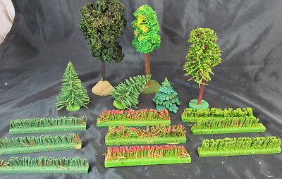 Kon.Bäume Tannenbaum Laubbaum Wald Dorf Erzgebirge Weihnachten Berg Modellbahn c