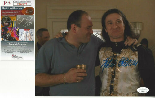 SOPRANOS Federico  (Furio) autographed 8x10 color photo with Tony JSA Certified