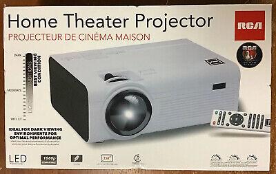 """RCA  Projector 2000 Lumens 480p, 1080P compatible 150"""" Picture Size - RPJ136."""