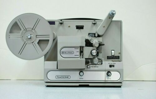 Bell and Howell Filmosonic Super 8mm Vintage Movie Projector 1731B