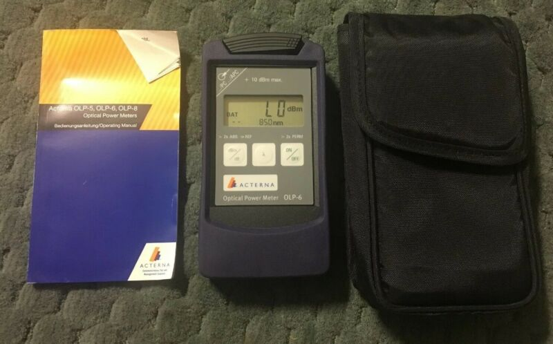 JDSU Acterna Optical Power Meter OLP-6