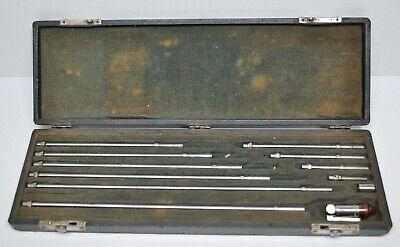 Vintage Brown Sharpe 265 Inside Micrometer Set 1.5-12.5 - Complete