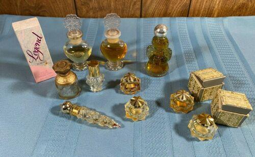 Vintage Avon Lot Of 11 Perfume/Cologne Starring, Unforgettable, Regence & Ect