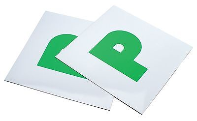 new magnetic passed pass green p driver plate plates for car x 2