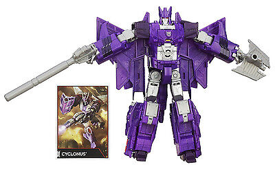 TRANSFORMERS GENERATIONS COMBINER WARS VOYAGER CLASS CYCLONUS 2-IN-1 FIGURE