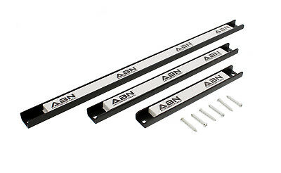 "- ABN Magnetic Tool Holder 3-Piece Set 8"" 12"" 18"" Inch Strips with Mounting Screws"