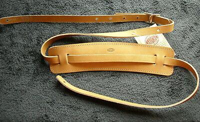 Correa de Guitarra Gaucho Vintage Leather Correa Natural