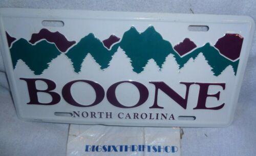 Boone North Carolina Mountain Novelty License Plate