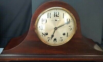 Antique Waterbury Mantel Wooden Chime Clock -For Parts or Repair