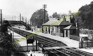 Dronfield Railway Station Photo. Unstone - Dore & Totley. Sheffield Line