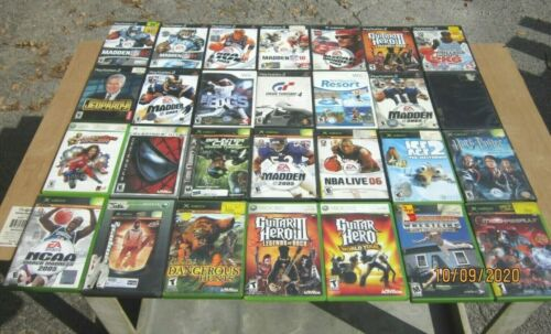 Lot of 42 Untested video games, Original XBOX,  PS2, Wii, GC