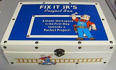 Ensco Tools Of The Trade Decorative Fix It Jrs  Storage Box 2003