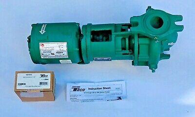 Taco 1600c 14 Hp Cast Iron Circulator Pump 115v Single Phase 1-12 Flange