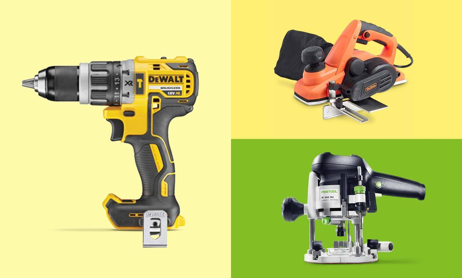 DIY Power Tools From £100