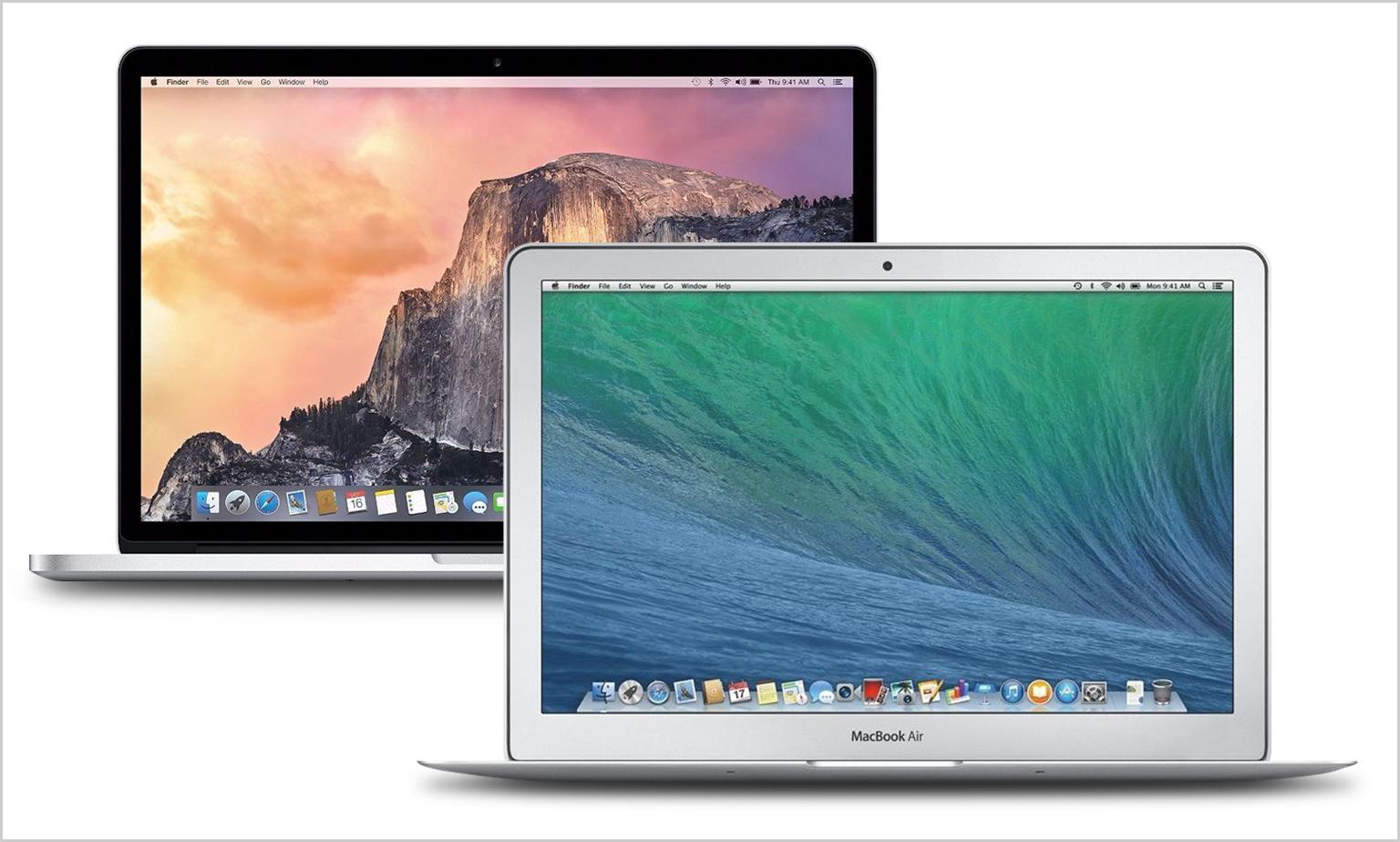 Save on MacBooks