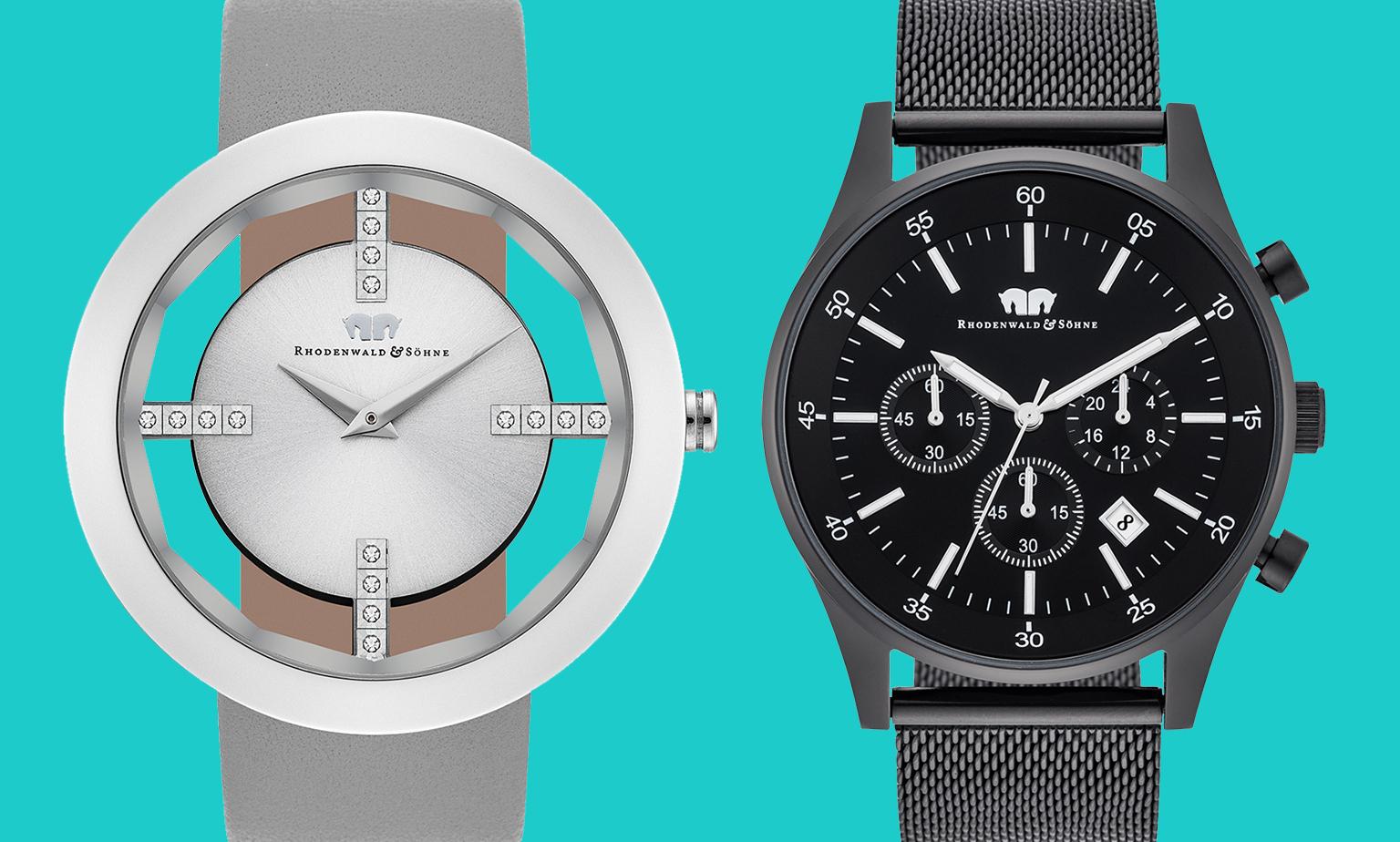 Herren- und Damenarmbanduhren reduziert