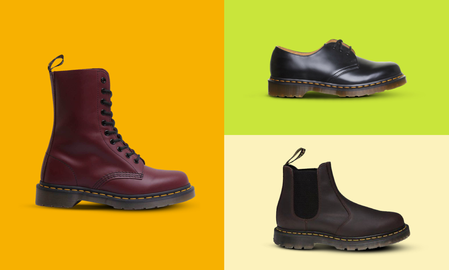 Dr. Martens Styles From £50