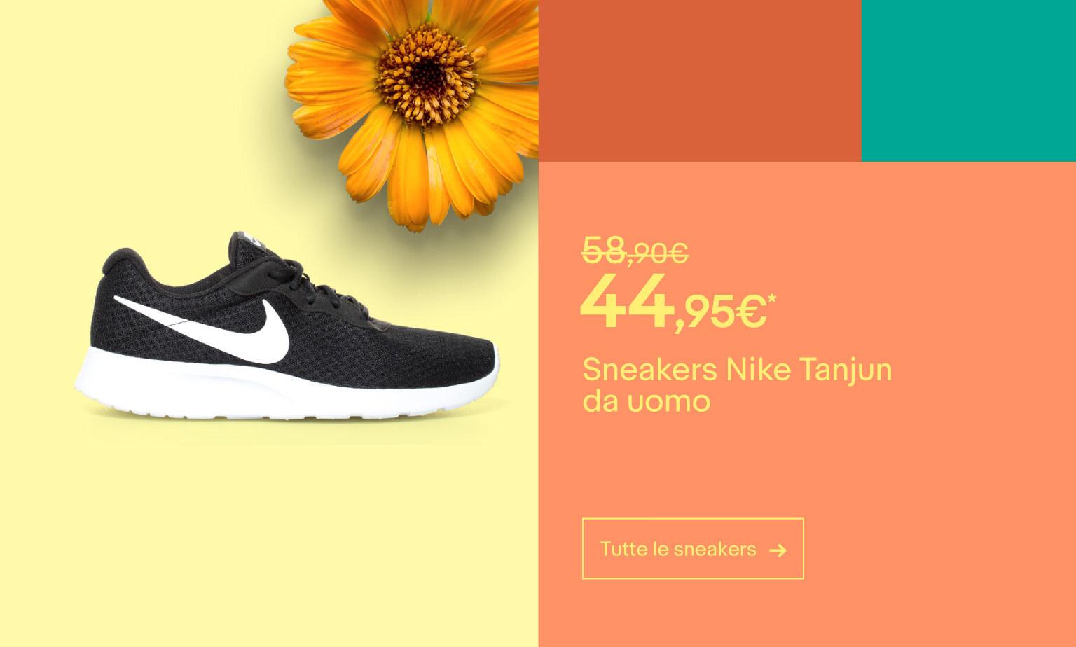 Sneakers, belle e scontate fino al 70%
