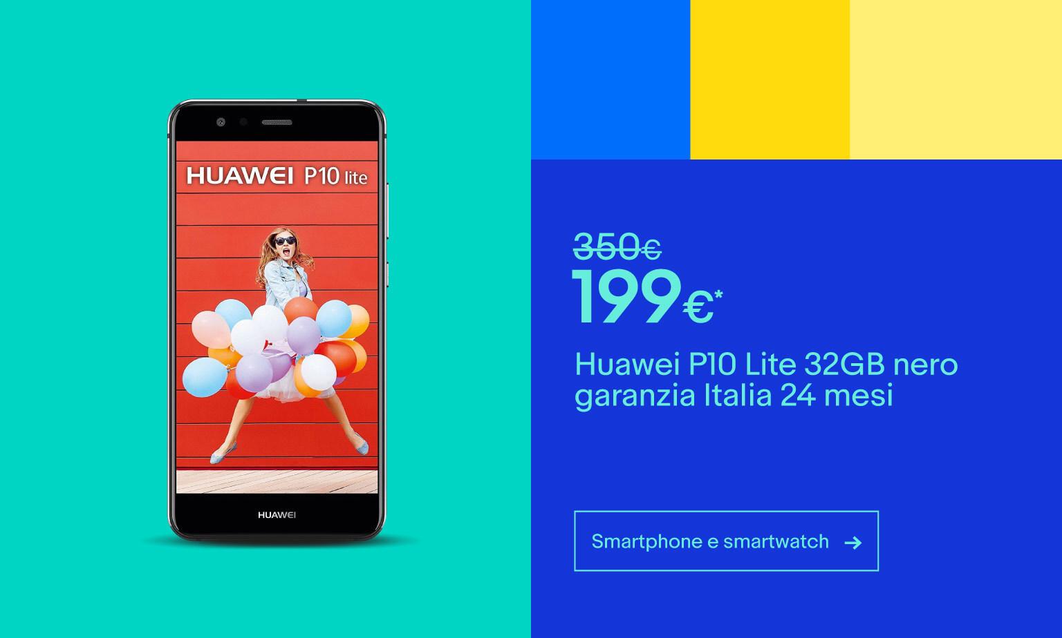 Fino a -40% su smartphone e smartwatch
