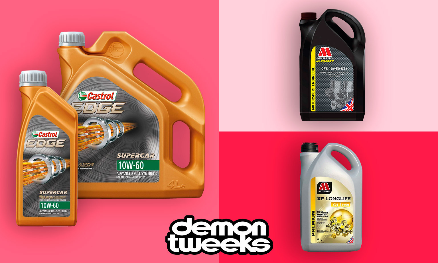 Great Value Deals on High Spec Engine oils