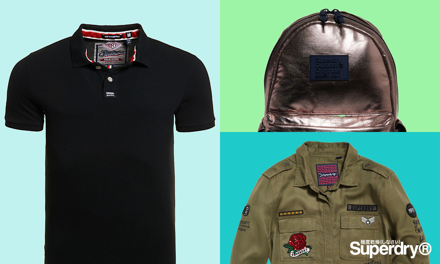 Superdry - Up to 60% off Holiday Shop