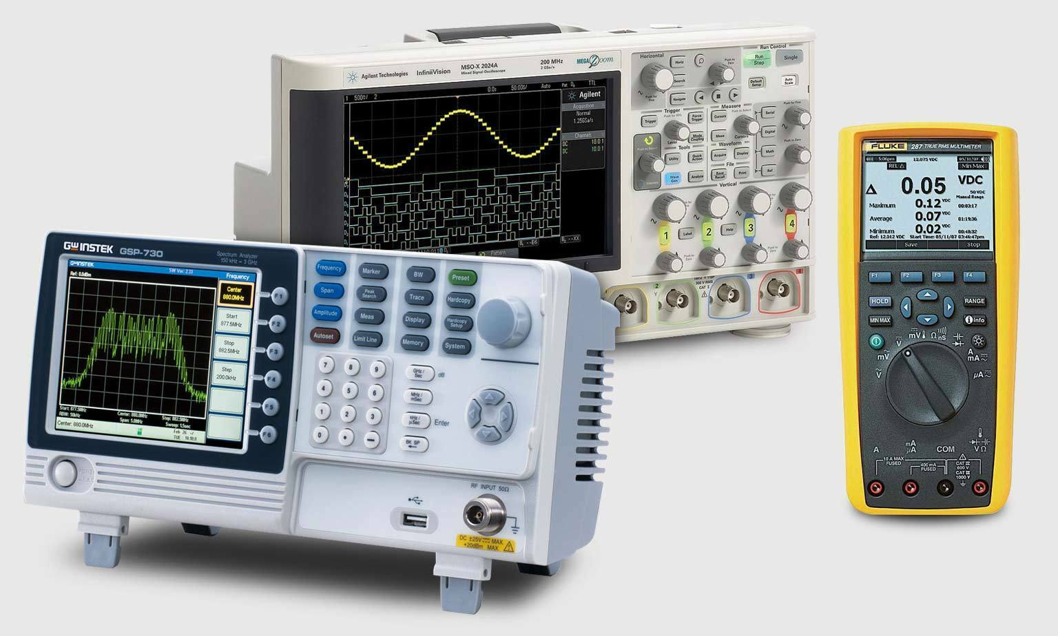 Electrical Test Equipment : Electronic test equipment electrical testing