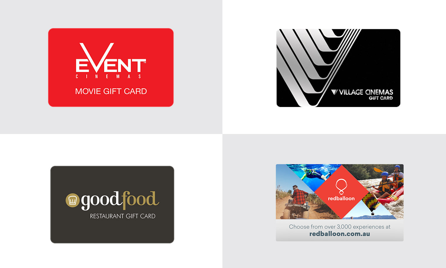 10% off Select Gift Cards