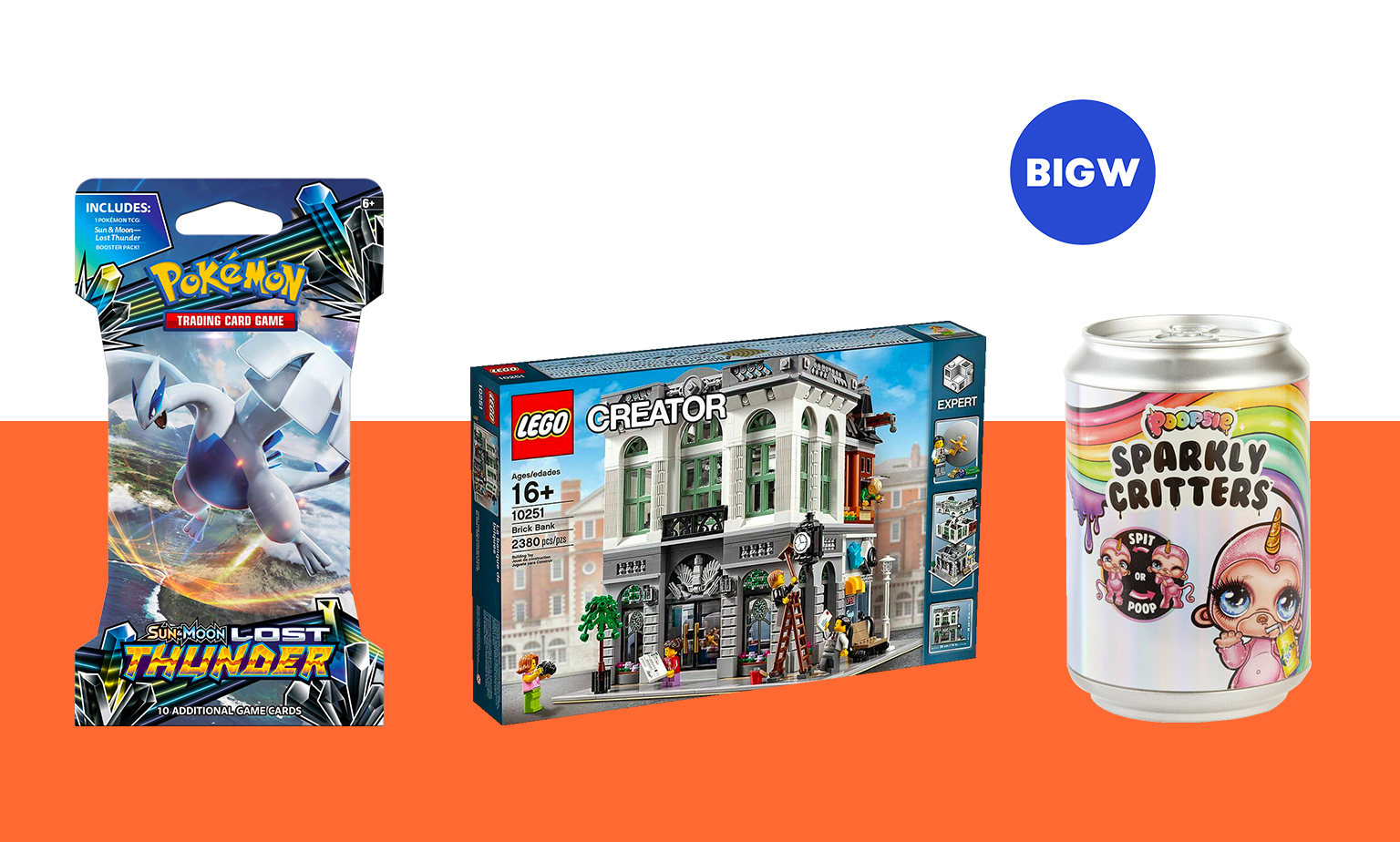 25% off* Toys at Big W on eBay