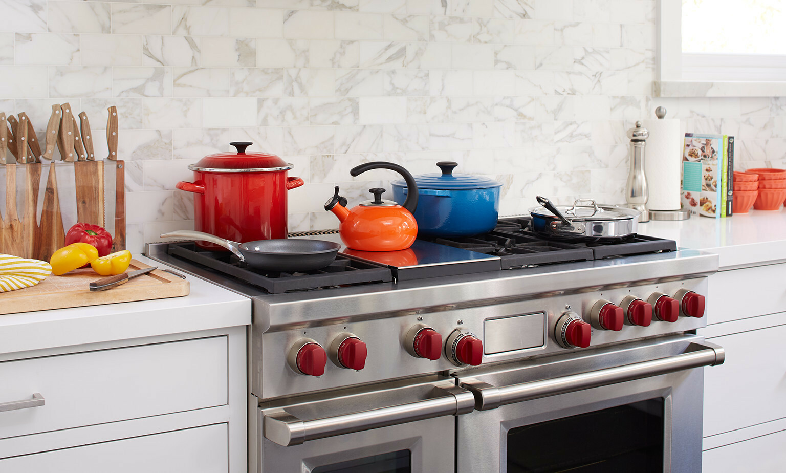 Colourful Cookware
