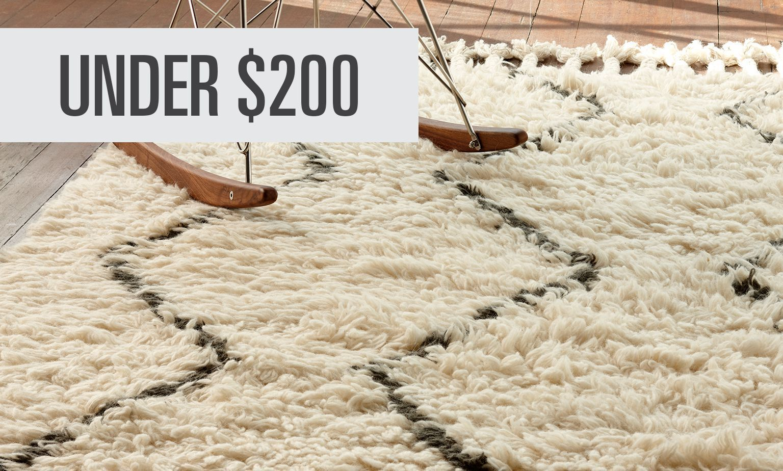 Click to Shop Rugs Under $200