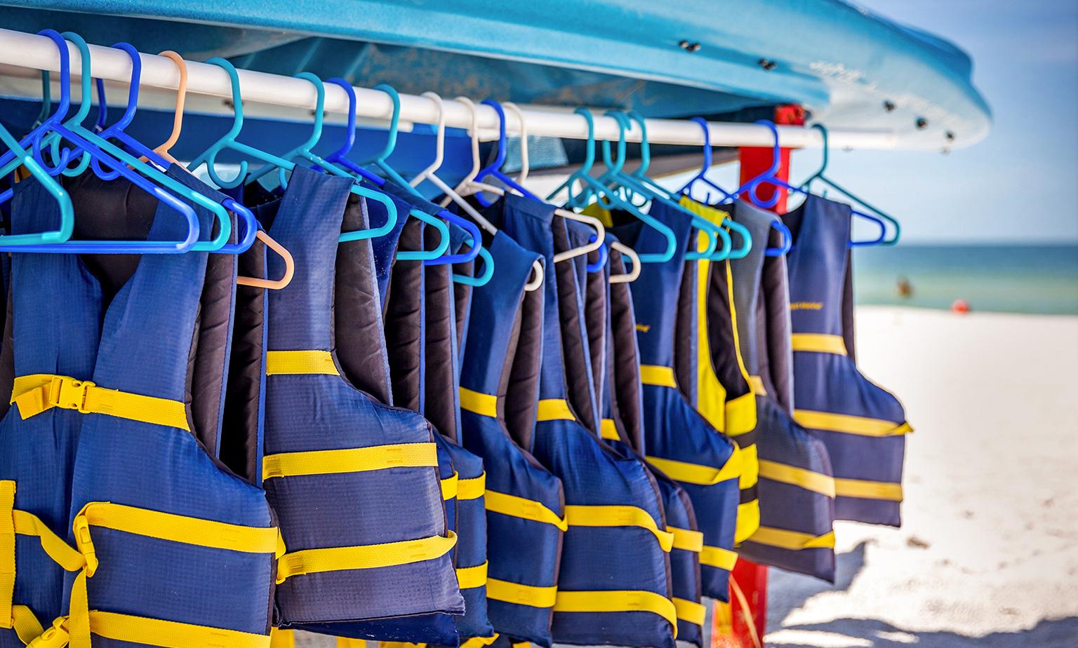 Equipment für die Unterwasserwelt