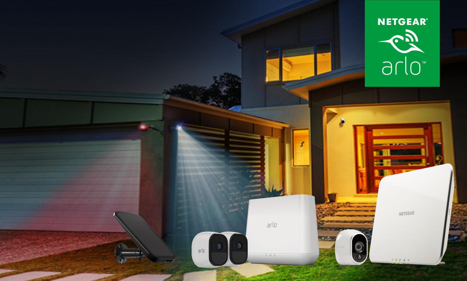 Arlo von Netgear. Wireless, Smart, Sicher.