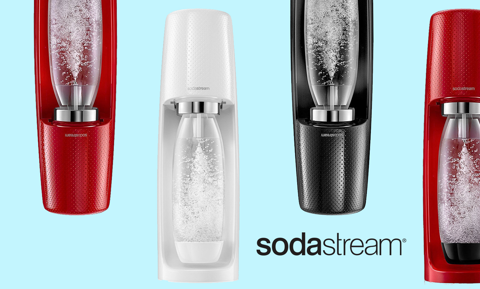 Sparkle up Your Day With SodaStream