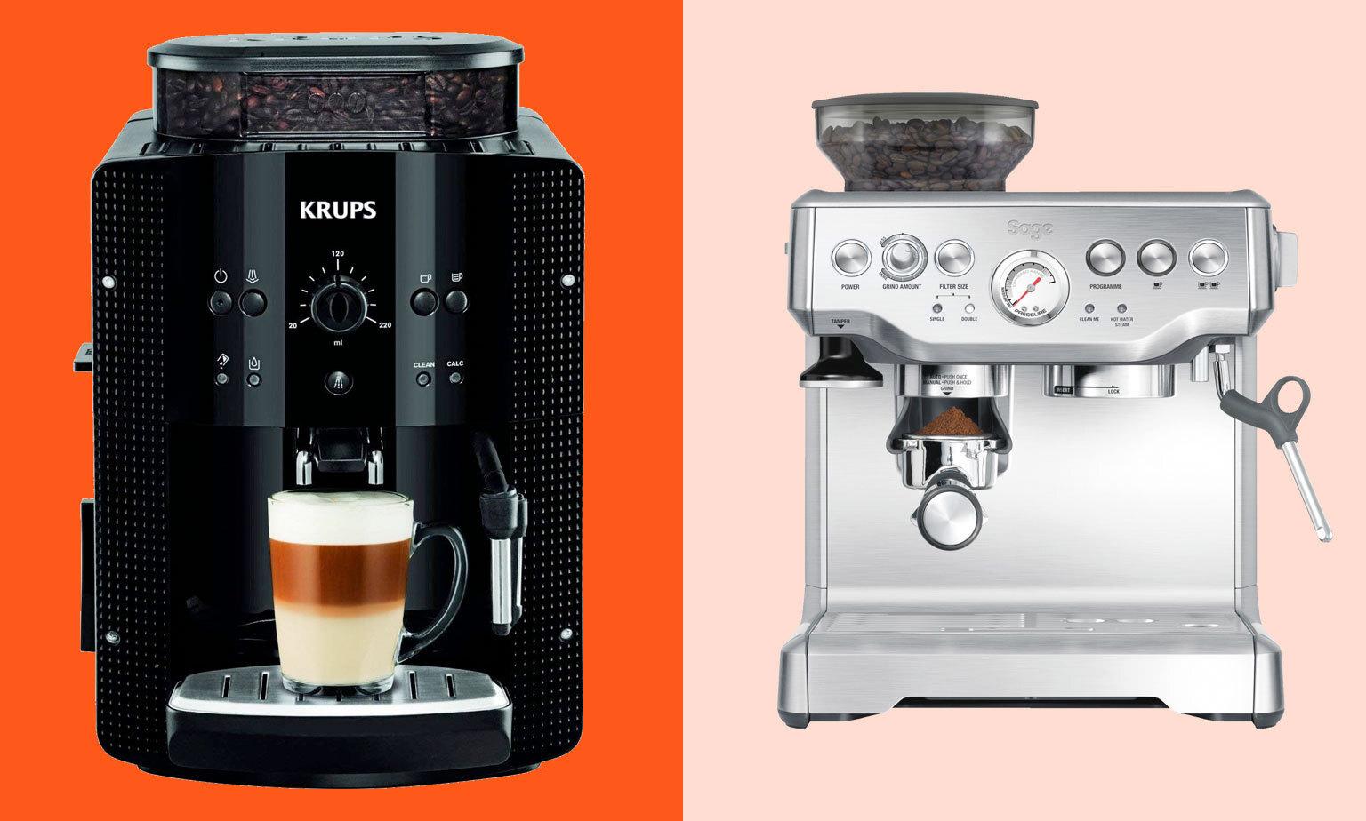 Bis zu -50% ggü. UVP auf Kaffeemaschinen