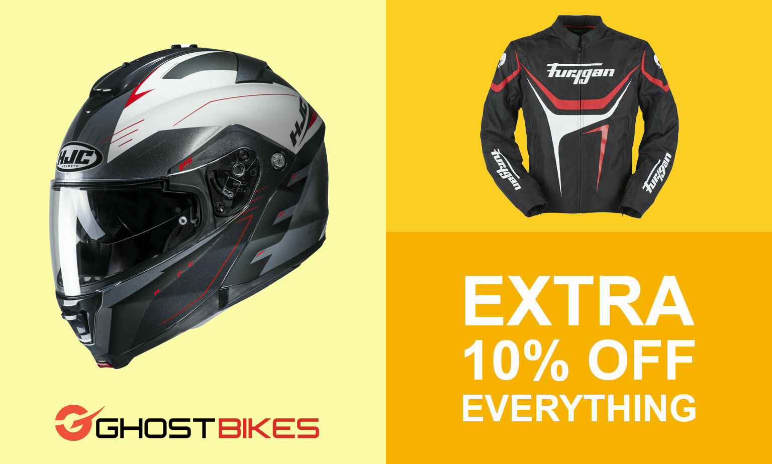 Further 10% off Motorcycle Hot Products