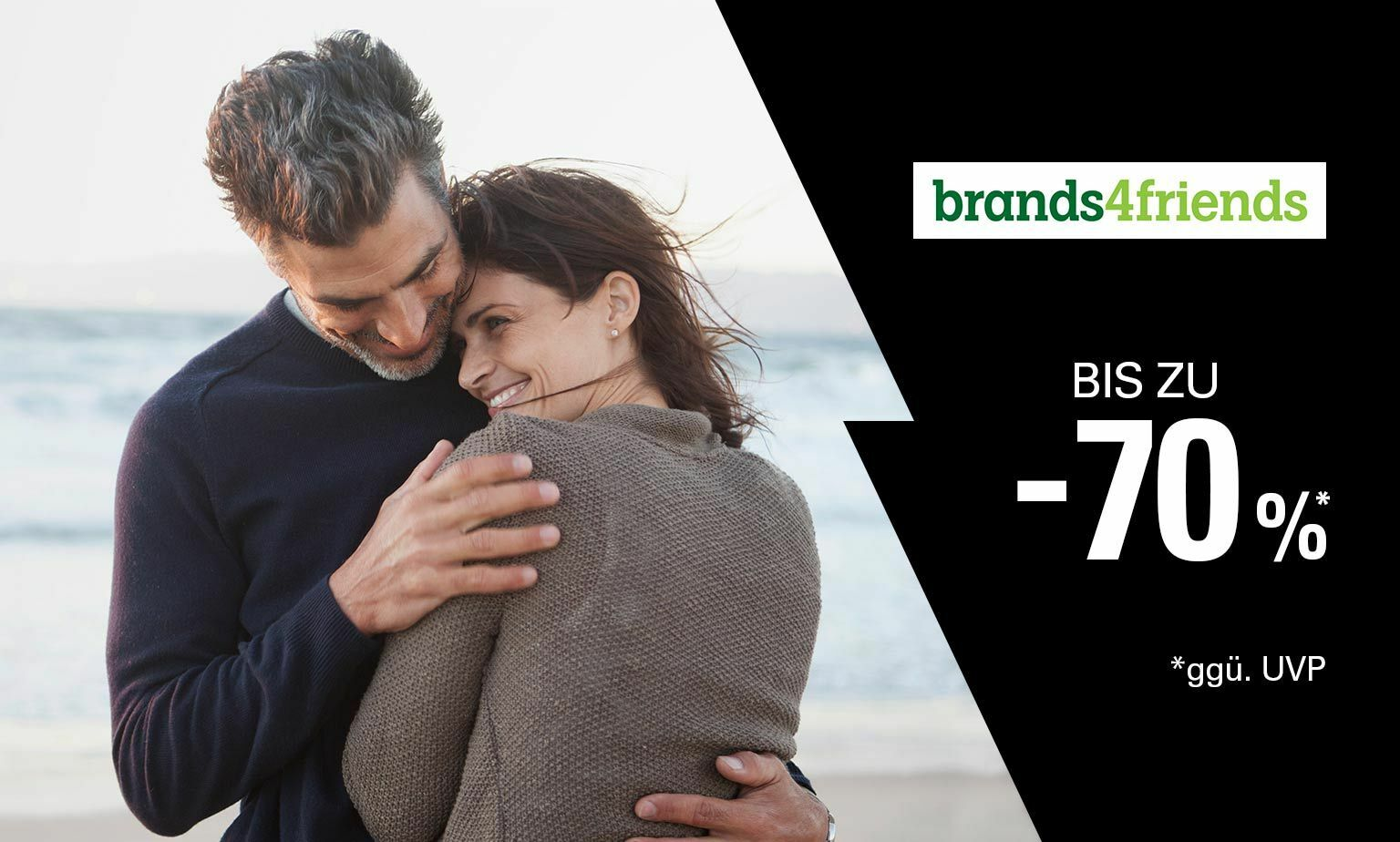 brands4friends bis zu -70% ggü. UVP