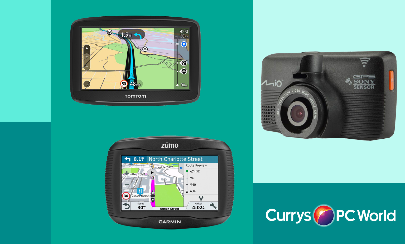 Shop the Full Sat Nav & GPS Range from Currys