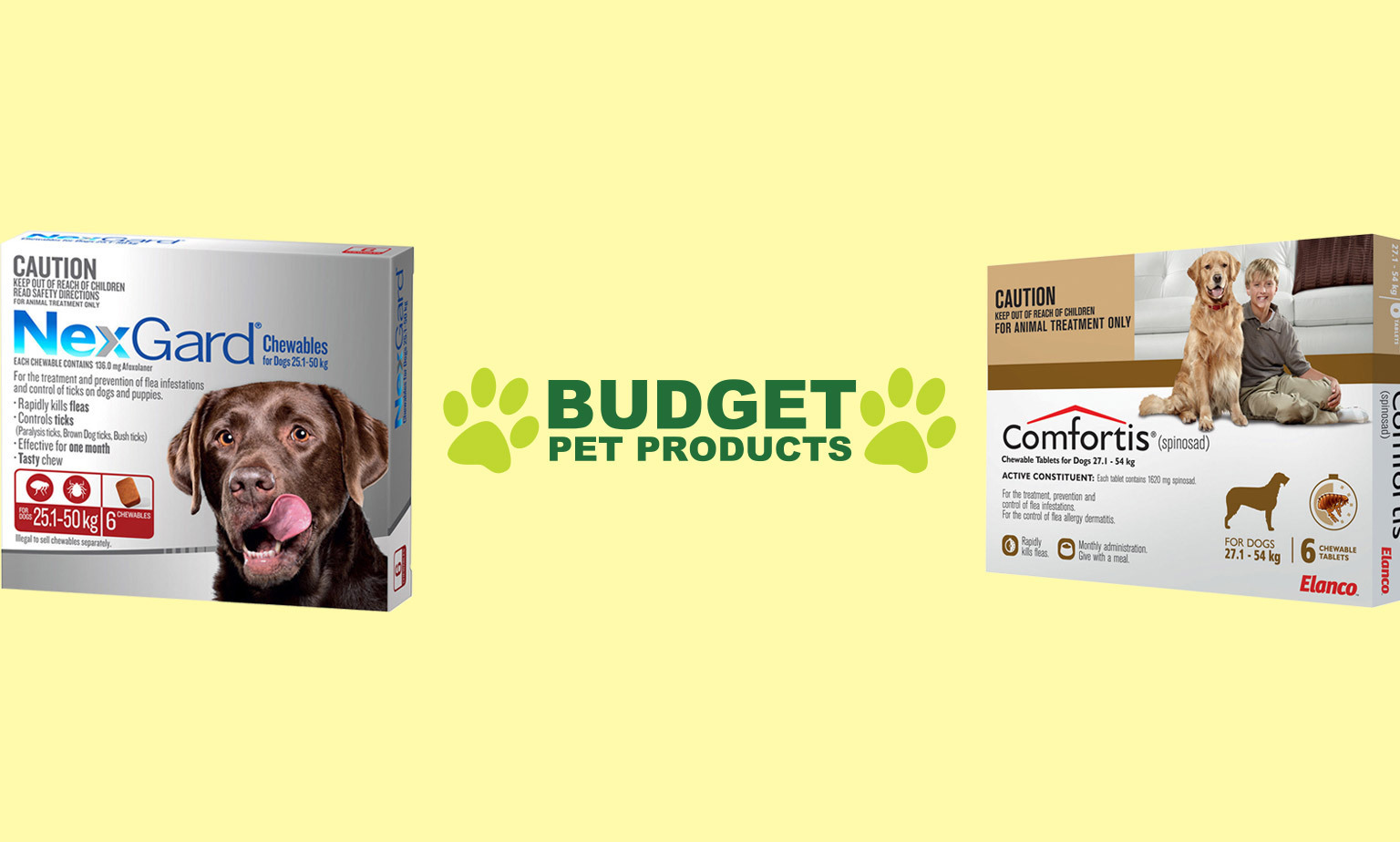 Huge Savings on Pet Care