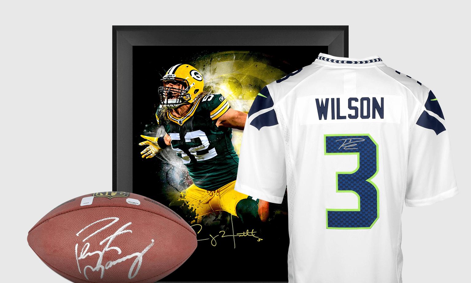 NFL Memorabilia & Autographs