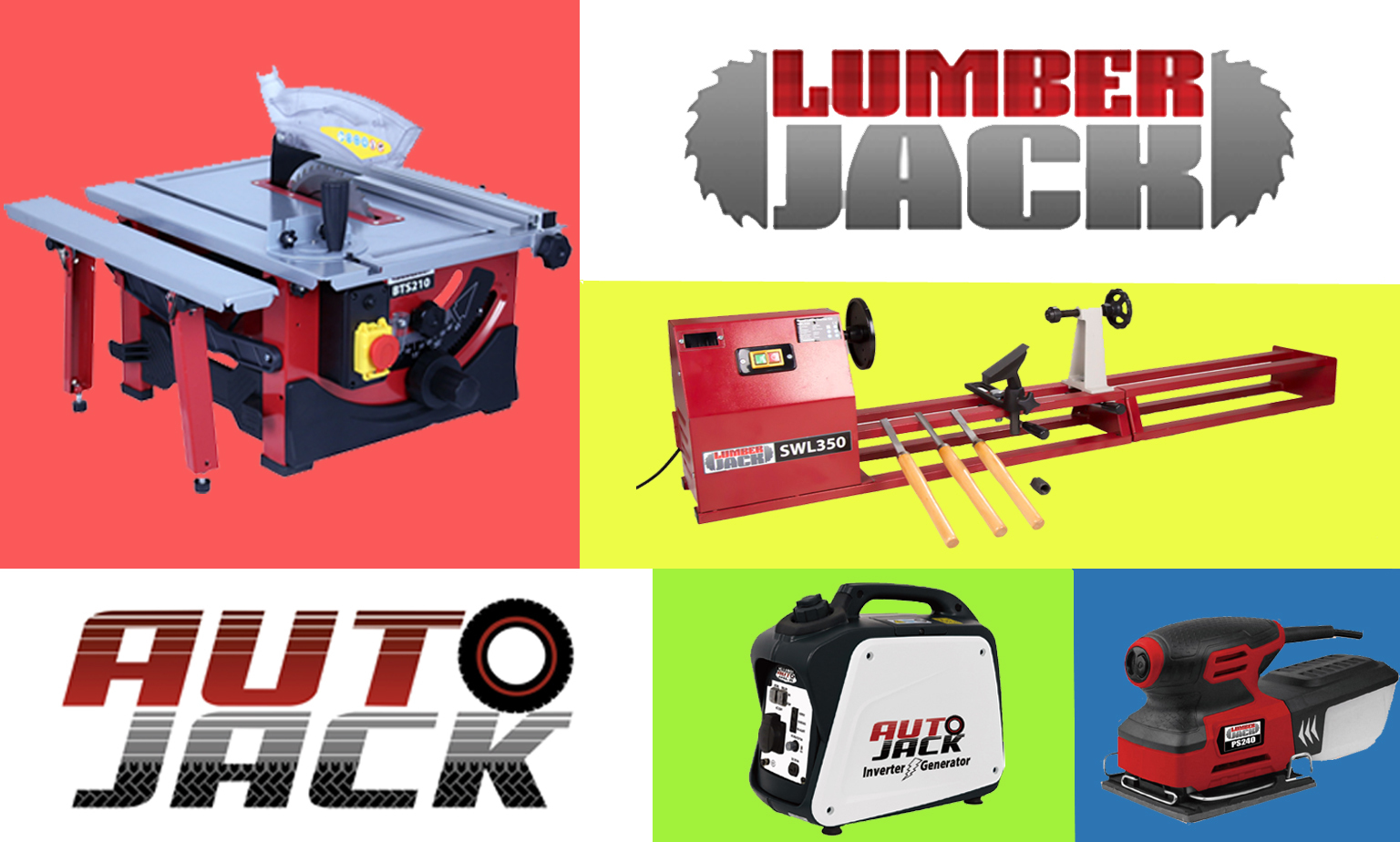 Save 20% on Lumberjack & Autojack Tools