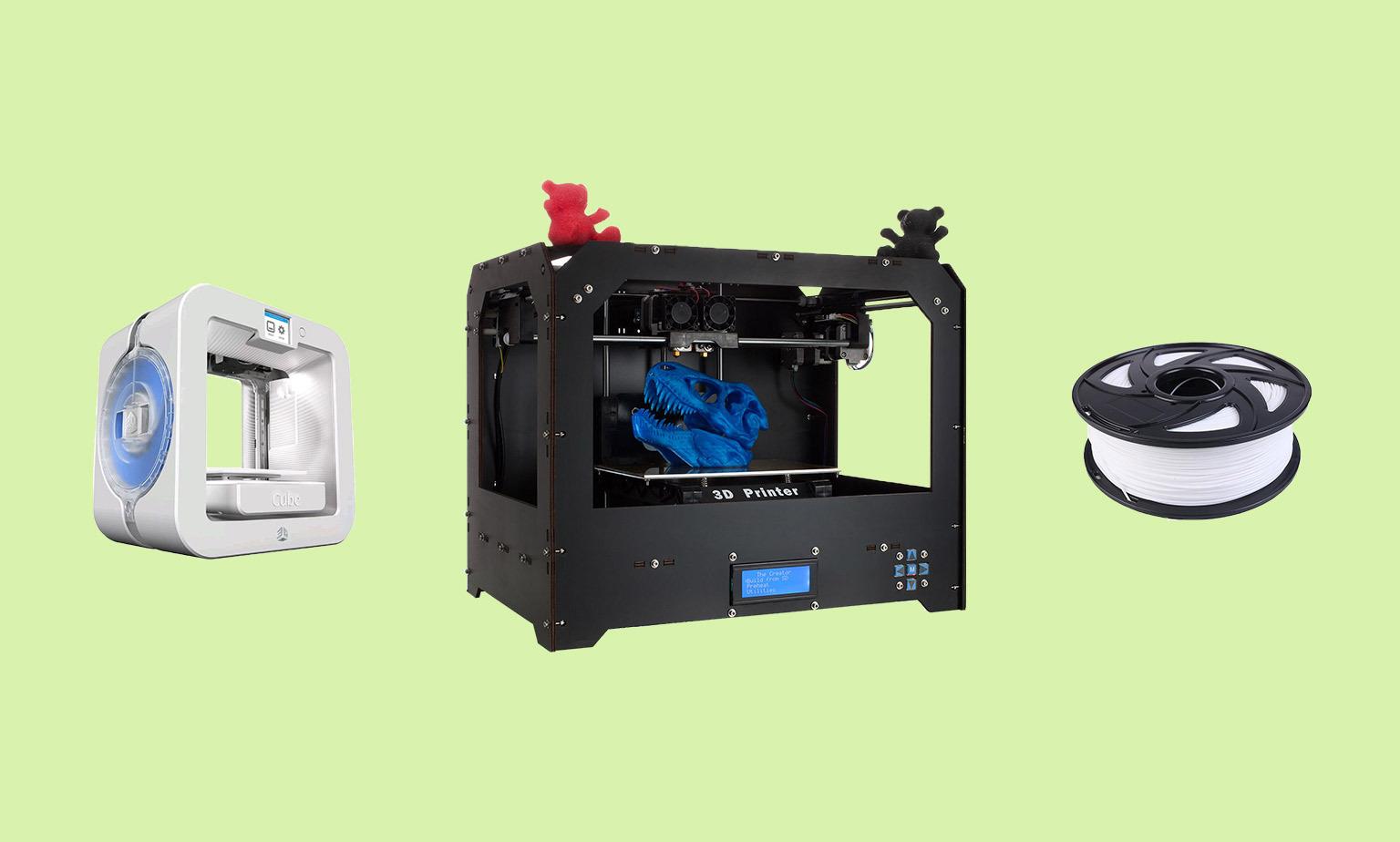 Explore 3D Printers & Filament