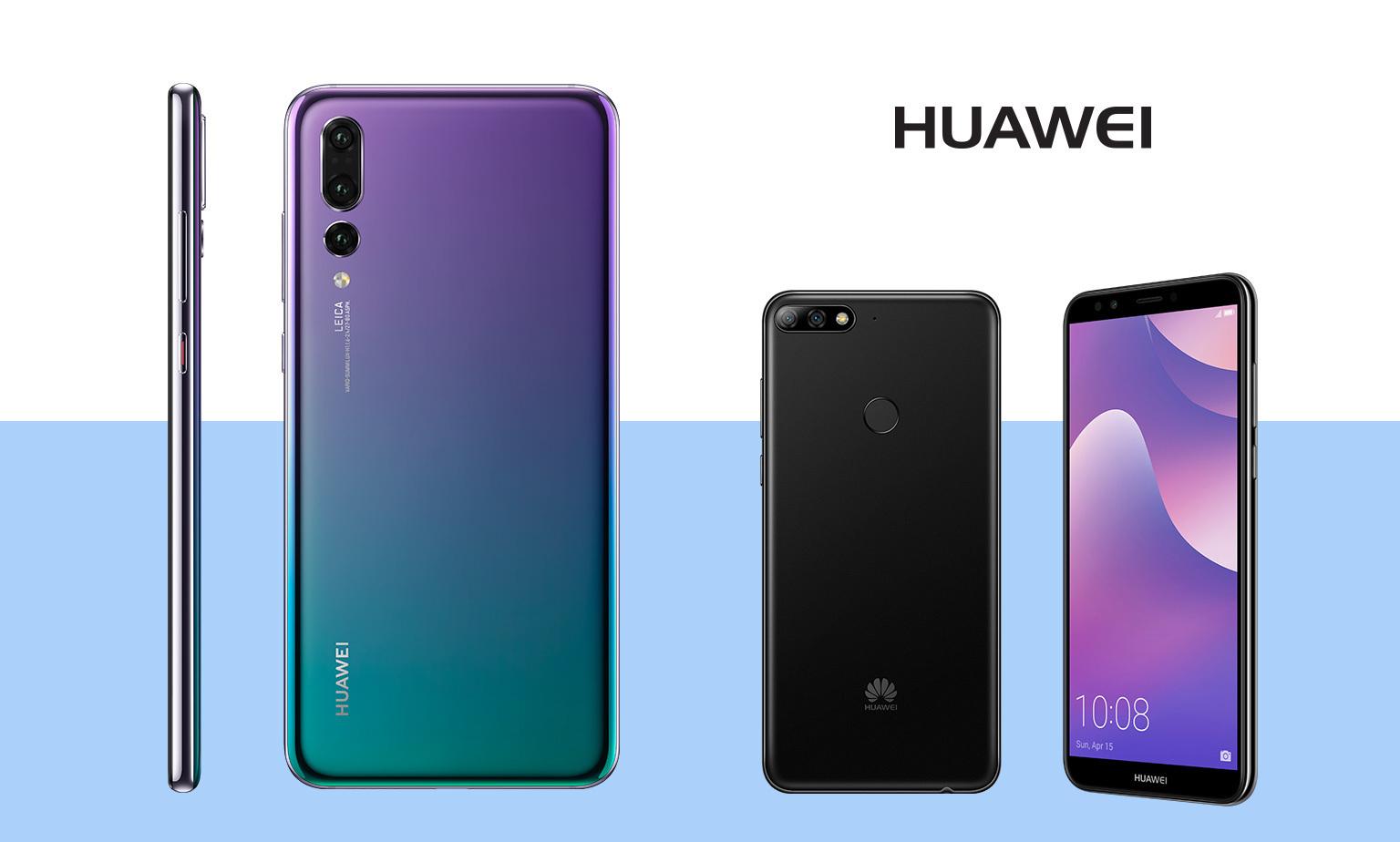 20% off* Huawei Smartphones