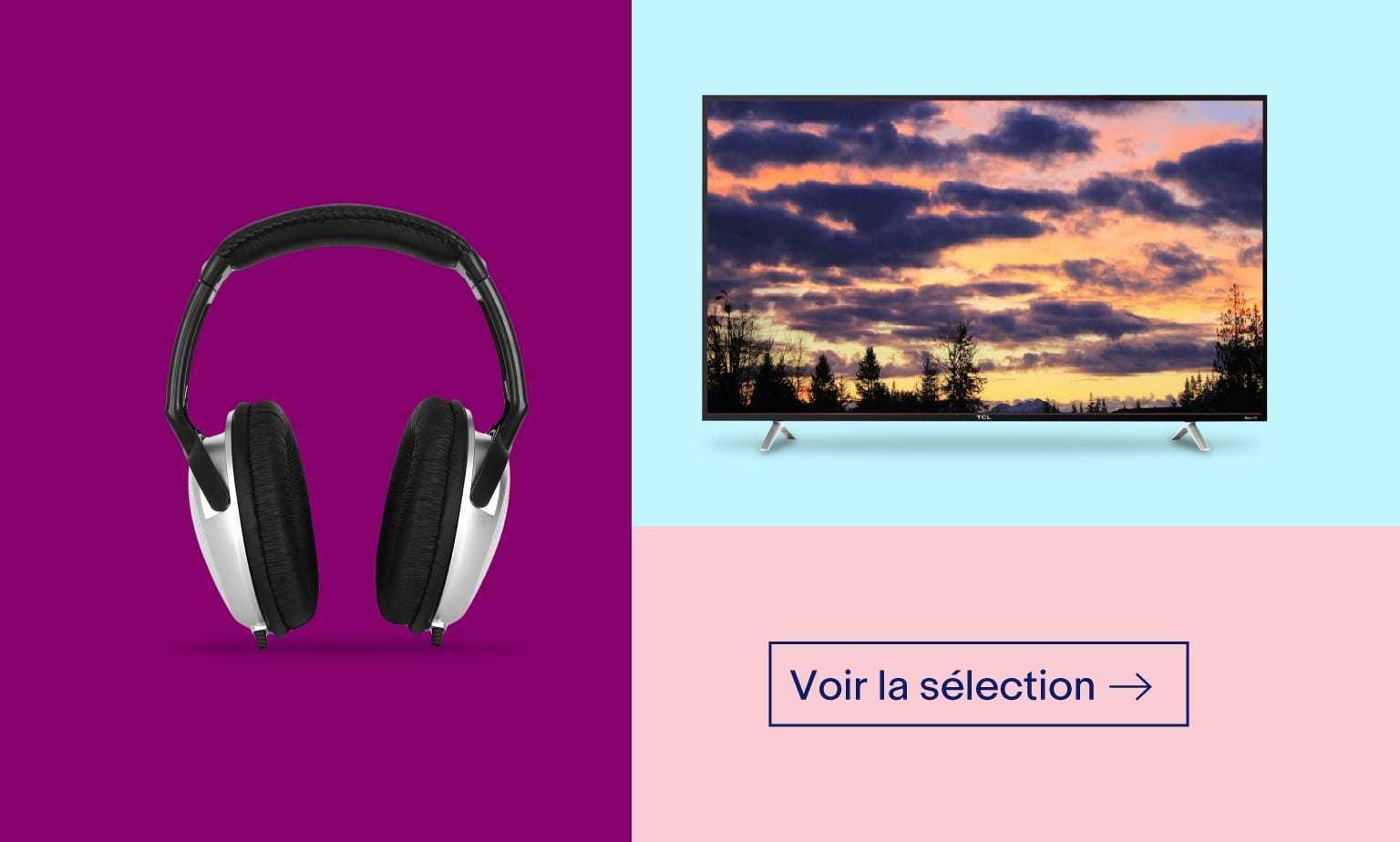 Audio, TV et Projecteurs Reconditionnés