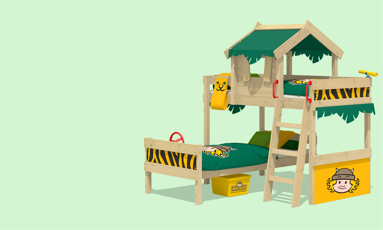 Wickey Kinderbetten Sonderverkauf