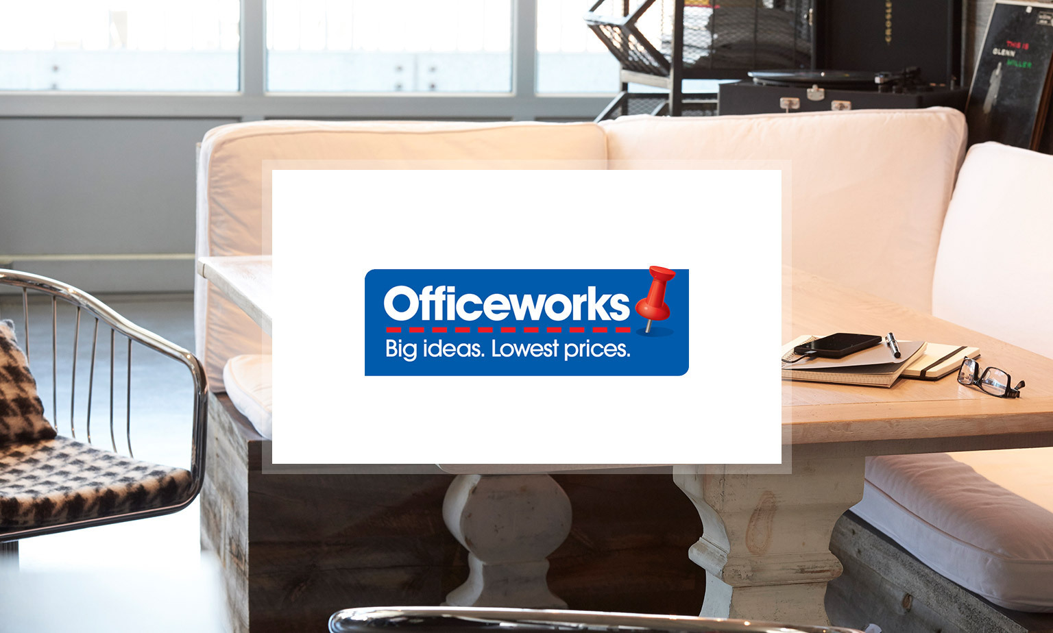 Click here to visit Officeworks event
