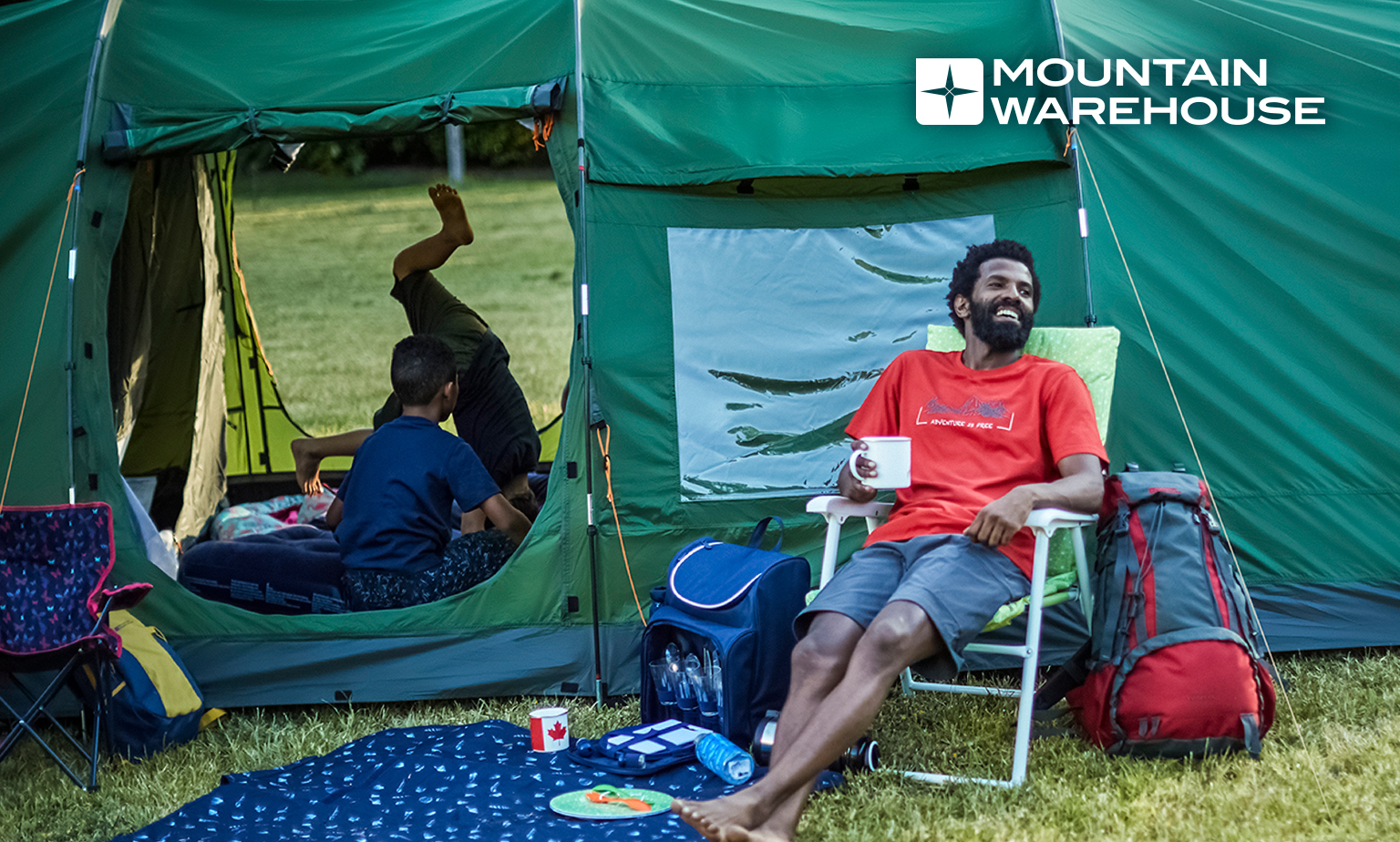Save up to 70% in the Mountain Warehouse Sale