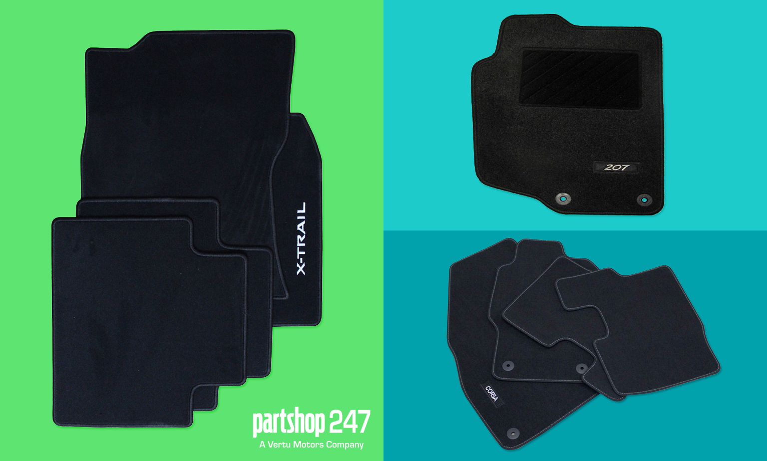 Up to 15% off Car Mats from Aceparts